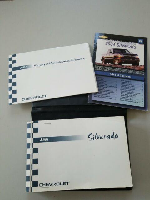 2004 Chevrolet Chevy Silverado Gmc Sierra Owner U0026 39 S Manual