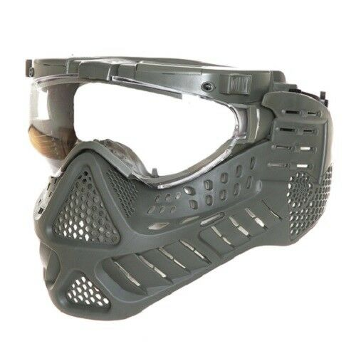 Pro Goggle ST-11-2 Type A Mask with led and system of ventilation Paintball