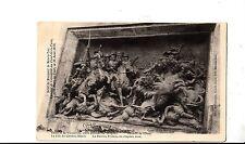 BF16187 relief du monument de mars la tour fond de la cu france front/back image