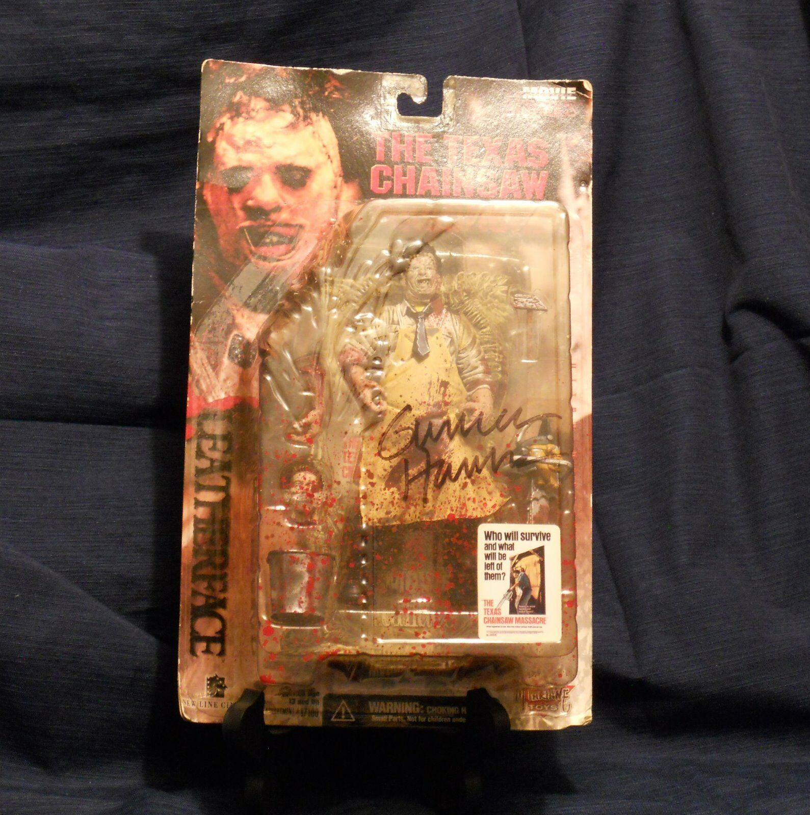 McFarlane Toys Toys Toys Movie Maniacs Series 1 - Leatherface Action Figure (autographed) 8dce62