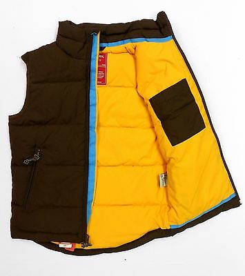 NEW BOYS UNIONBAY BROWN QUILTED DOWN FILLED VEST You Pick Size! Helping Charity