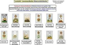 28-Lerntafeln-Lenormandkarten-Lenorman-Karten-legen-Wahrsagen-Zukunft-deuten
