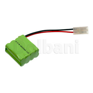 Rechargeable-Battery-Ni-MH-AAA-with-Cable-2-Pin-9-6V-1000mAh