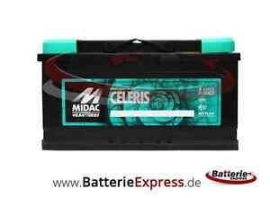MIDAC SIGILLUM S5 Plus 12V 100Ah 850A Kaltstartstrom Starterbatterie NEU