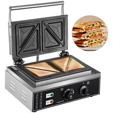 Commercial Grill Panini Sandwich Maker Press Cast Iron Heavy Duty Triangle 4pcs
