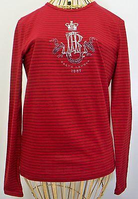 Ralph Lauren Jeans Embellished T Shirt Womens XS