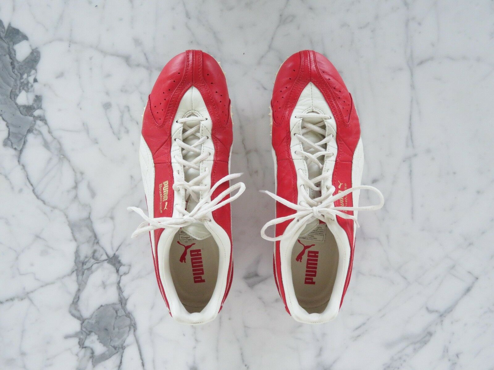 Brush Spike Red & White  by PUMA