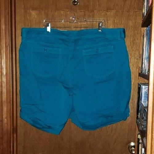 Venezia Turquoise Shorts - Size 28 - image 2