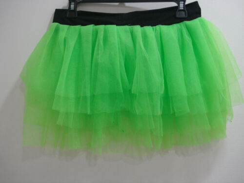 Claire/'s Junior Ladies Bright Neon Tutu Skirt Ballerina Dance Class Size S//M