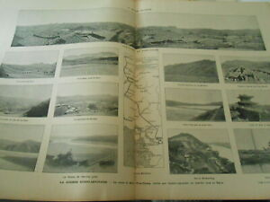Grande Gravure 1904 - La Route De Séoul à Pien Hyang En Marche Vers Le Yalou Vous Garder En Forme Tout Le Temps
