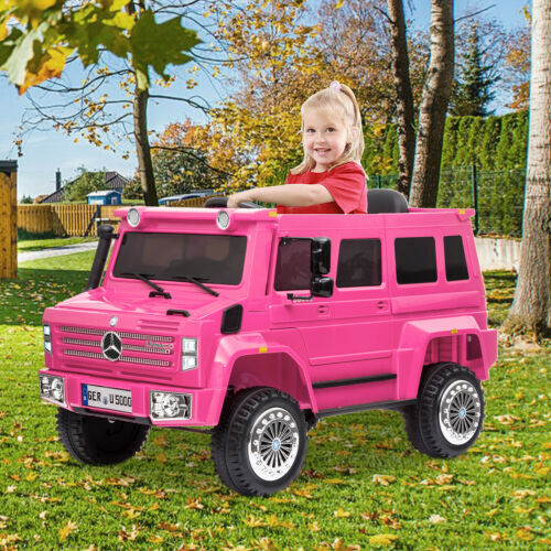 12V Licensed Mercedes Unimog U500 Kids Electric Ride On Car with Remote Control