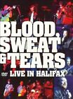 Live in Halifax by Blood, Sweat & Tears (DVD, Apr-2006, ZYX Music)