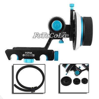 Fotga upgrade QR DP500IIS dampen Follow focus f 5DII III 7D + 3 different gear