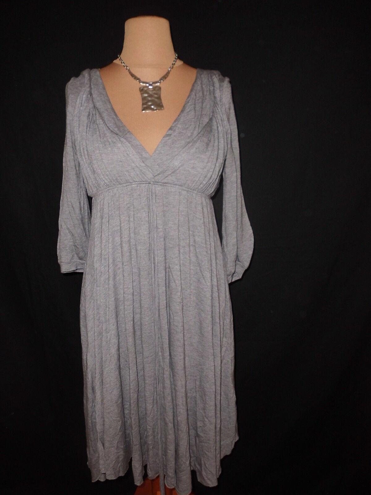 Kleid MAJE Größe 3 grau -64%