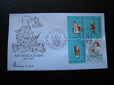Tag 3/12/1987 Freundlich Vatikan Umschlag 1 cy32