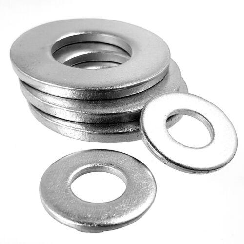 FORM A WASHERS A2//A4 Marine Grade Steel M2-M36 Standard Flat Metric Bolt Screw