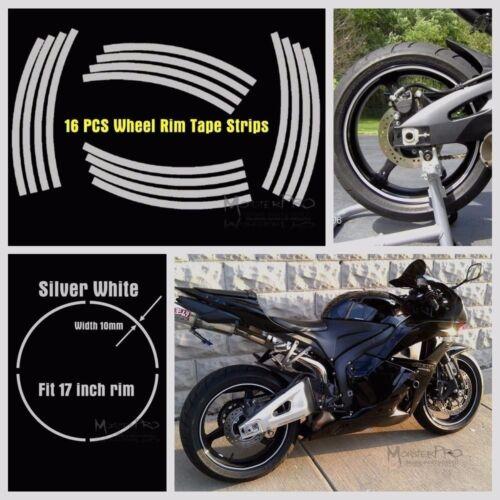 """CAR MOTORBIKE 17/"""" Motorbike WHEEL RIM STRIPE TAPE YAMAHA YZF R1 R6 R7 600R 1000"""