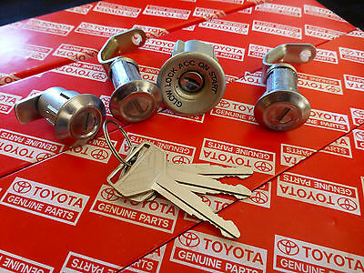 Genuine Toyota Landcruiser BJ42 Complete Key & Lock Set OEM HJ47 HJ45 BJ40 FJ40