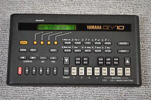 yamaha qy10 music sequencer tone genrator drum machine sound module ebay. Black Bedroom Furniture Sets. Home Design Ideas
