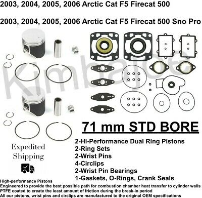 WA Top End Gasket Kit Arctic Cat 500 F5 Firecat//Sno Pro 03-06