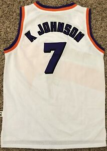 0bd38f33f Image is loading Kevin-Johnson-Phoenix-Suns-Adidas-Hardwood-Classics-Jersey-