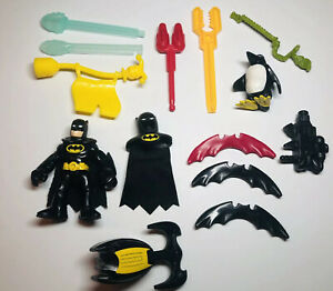 Lot-of-Imaginext-Accessories-DC-Batman-Missiles-Projectiles-Weapons-amp-More-v