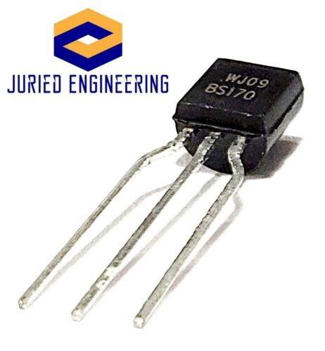 60 Volts N-Channel Enhancement Mode FET TO-92 BS170 Small Signal MOSFET 500 mA