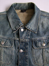 Diesel Gregg Denim Jacket Men's Large Blue Wash MA737 Vintage LJKTk144 #