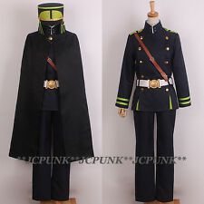 *JCPUNK* Seraph Of The End Hyakuya Yuichiro Cosplay Costume Uniform Set