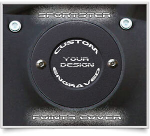 Harley Davidson Sportster 2 Hole Points Timing Cover Custom