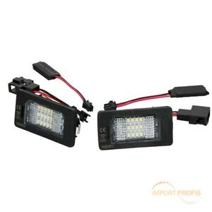 LED-Kennzeichenbeleuchtung-2-Stueck-Leuchten-fuer-Audi-A7-4GA-Q3-8UB-Q5-8R-TT-8J3