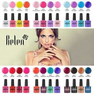 Belen 4 colores Esmalte Semipermanente Brillante de Uñas en Gel UV LED Manicura