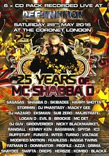 Mc Shabba D – 25 Years Of