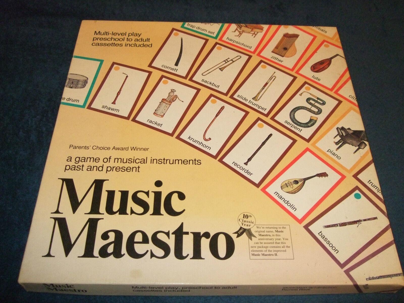 Musik - maestro - familie brettspiel von aristoplay 1992