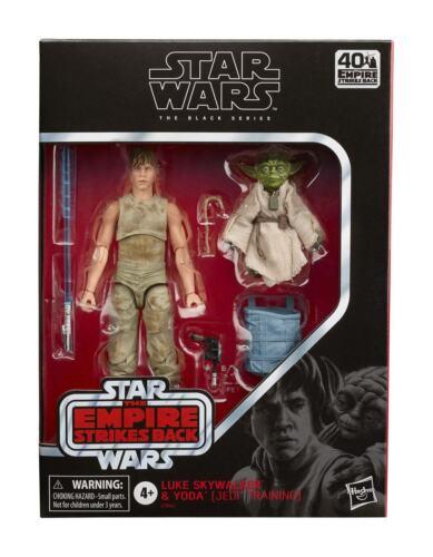 Black Series Luke Skywalker Yoda Jedi Training Star Wars Epsiode V Figur Hasbro