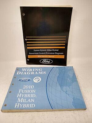 2010 Ford Fusion Milan Hybrids OEM Powertrain Emissions ...