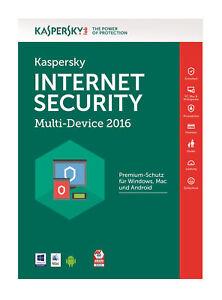 Kaspersky Lab InternetSecurityMulti-Device (Download) (5 PC) - Vollversion für Universal KL1941GCEFS