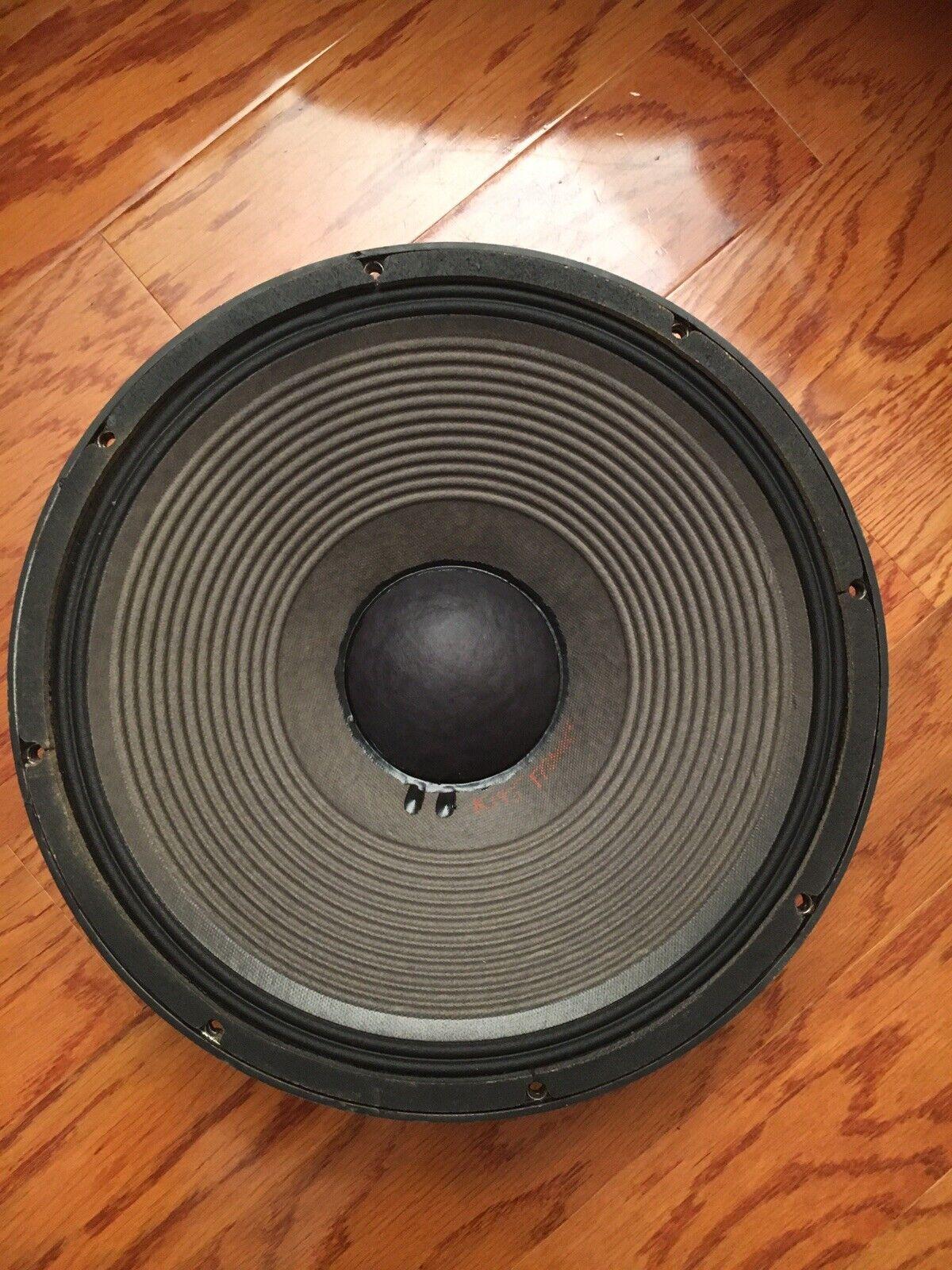 "s l1600 - JBL K-145 15"" 8 Ohms speaker"