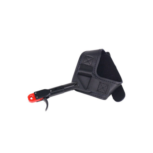 Archery Caliper Release Aids Finger Trigger Wrist Strap Compound Bow Hunting