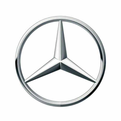 MERCEDES-BENZ EMBLEM DECAL STICKER 3M USA IN MADE TRUCK VEHICLE WINDOW WALL CAR
