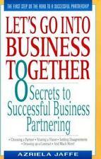Let's Go into Business, Jaffe, Azriela, 038079862X, Book, Good