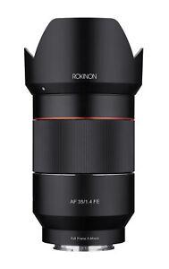 Rokinon 35mm F1.4 AF Wide Angle Lens (Sony E)
