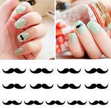 FD1613 3D Design Beauty Nail Stickers Nail Art DIY Stickers Decals ~Mustache~