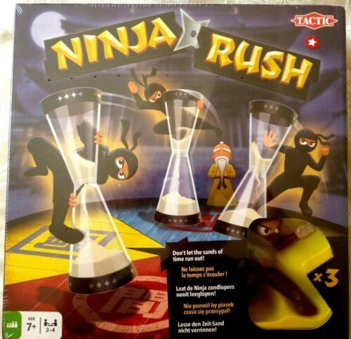 Ninja Rush jeu de plateau par Tactic jeux-Brand new /& sealed-UK POST GRATUIT