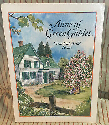 Anne Of Green Gables Press-Out Model House