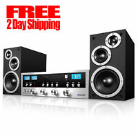 Cd Stereo System Bluetooth Home Speaker Innovative Technology Mp3 Fm Radio