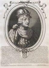 Jean II Le Bon Roi de France par Nicolas II de Larmessin C 1686