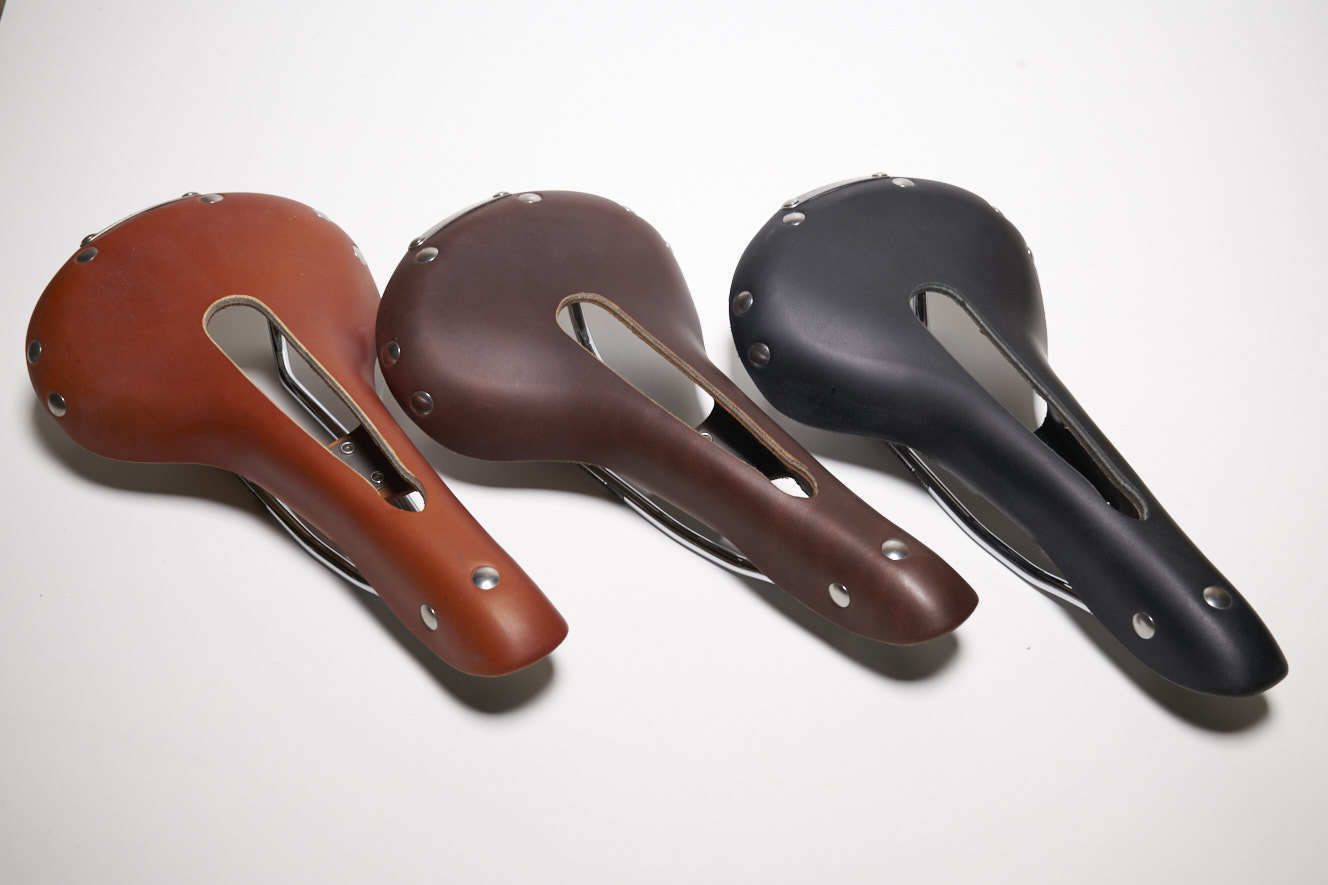 Leather Bicycle Saddle with  cut out  outlet online store
