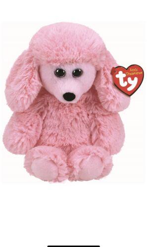 TY Beanie Attic Treasures PRICILLA - PINK DOG Medium Plush 9