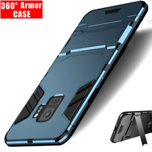sports shoes 246e0 9b132 Details about For Samsung J4 J6 J7 Pro A6 Plus 2018 Armor Stand Rugged  Heavy Duty Case Cover